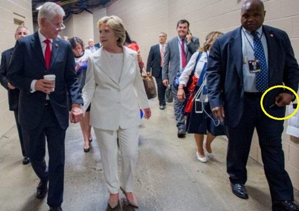охрана клинтон